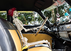 It's been a long trip (muppet1970) Tags: car skeleton driving seats steeringwheel