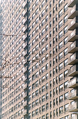 Lincoln towers facade (TheMachineStops) Tags: nyc manhattan newyorkcity grid apartmentbuilding highrise terrace windows pattern uws upperwestside 35mmscan film facade analog architecture building texture lines abstract geometric minimalism