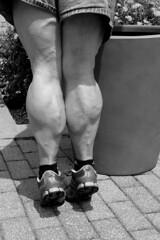 DSC_0210jjbw (ARDENT PHOTOGRAPHER) Tags: muscular calves woman female flexing