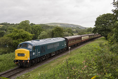 45108 2J58 (DM47744) Tags: railroad travel blue summer train track br 4 transport traction peak rail railway trains class 45 lancashire vale transportation rails type british locomotive preserved railways elr gala preservation irwell sulzer 2016 eastlancashirerailway class45 45108