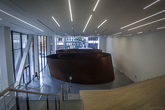 'Sequence' by Richard Serra (Greatest Paka Photography) Tags: sfmoma richardserra sequence sculpture sculptor ellipse museum museumofmodernart sanfrancisco artwork massive largescale art