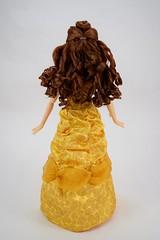 2016 Singing Belle 16 Inch Doll - US Disney Store Purchase - Belle Deboxed - Standing - Full Rear View (drj1828) Tags: us disneystore belle beautyandthebeast singing 16inch 16 lightup interactive 2016 purchase deboxed standing