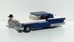 1959 Ford Fairlane 500 (LegoEng) Tags: ford car america lego yacht american 1950s 50s 500 galaxie fairlane 59 1959 landyacht legoeng