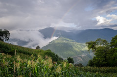 Nature at its best (Ivon Murugesan) Tags: meghalaya rainbow nature landscapes hills mountains cherpaunjee valley green india himachal pradesh himachalpradesh northeastindia indiaig places travel tourism cloud cloudformation cloudy