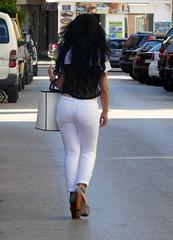 The Walk (RobW_) Tags: white trousers girl walking zakynthos greece monday 18jul2016 july 2016