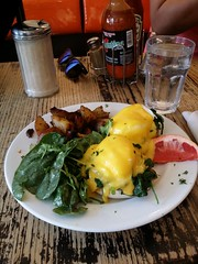 Easy-Restaurant-Toronto-Roncesvalles-Eggs-Florentine-Brunch-Breakfast-Joshua-Sham-ArcDis (Joshua Sham) Tags: brunch breakfast eggs florentine hollandaise