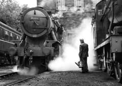Shed Talk (Kingmoor Klickr) Tags: 90711 90733 43924 wd fowler 4f vulcanfoundry 5200 keighleyworthvalleyrailway haworth heritage steam railway