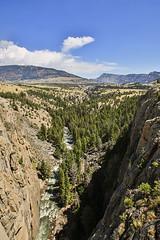 Sunlight Creek (wyojones) Tags: wyoming shoshonenationalforest sunlightbasin sunlightcreek sunlightbridge absarokamountains cody cliff creek canyon stream brook wyojones np