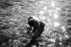 in the sea (gorbot.) Tags: fujifilmxpro1 xpro1 35mmfujinonf14 vscofilm summer blackandwhite monochrome sicily sicilia