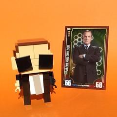 Brickheadz: Phil Coulson (FxanderW) Tags: lego agent shield superheroes custom marvel moc brickheadz philcoulson agentsofshield