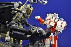 Medic_15 (Shadowgear6335) Tags: red white robot lego system technic medic bionicle moc shadowgear shadowgear6335