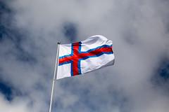 Faroese Flag (kaszeta) Tags: faroeislands trshavn streymoy fo