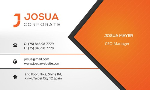01_Front Side Business Card