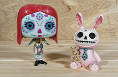 Day of the Dead Sally and the rabbit (Busted.Knuckles) Tags: home toys funkopop sally furrybones rabbitfigure olympusomdm10mkii dxoopticspro11