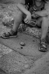 Stone (Luisen Rodrigo) Tags: rhodes rodos kids oldtown poverty stolenchildhood