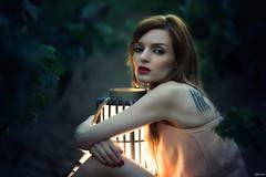 Ruth (Pablo Caas) Tags: ruthmpealver belleza beautiful beauty farol mirada sexy sensual sensuality sensualidad tatuaje tatoo viedos via verde