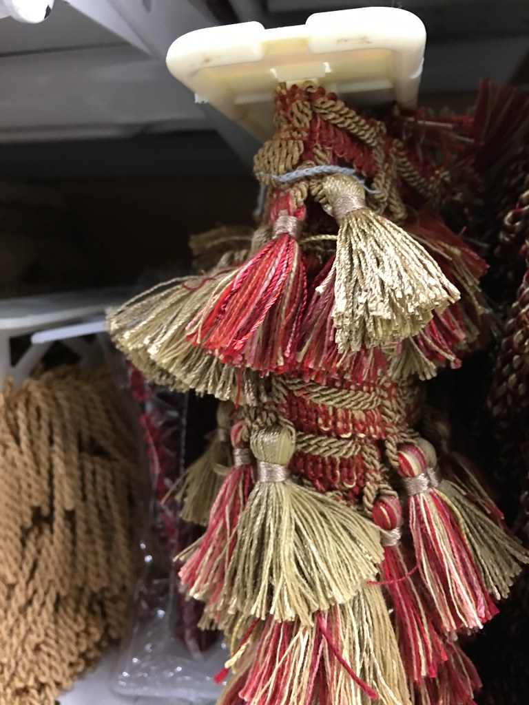 trim notions Vestment trim and notions to help you make a beautiful vestment set our vestment banding comes in widths ranging from 2 1/4 inches to a full 3 inches wide.