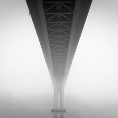 Cup (Vesa Pihanurmi) Tags: bridge fog monochrome blackandwhite porvoo emsalo minimalism architecture longexposure misty
