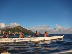 IMG_6824 (nautical2k) Tags: waikikibeachboys paddling outrigger canoe diamondhead honolulu oahu