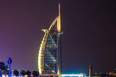 Burj Al Arab, Dubai (nishikant_kumar) Tags: burj al arab dubai uae hotel night