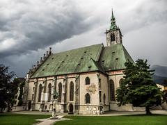 Pfarrkirche Maria Himmelfahrt, Schwaz (Only-oly) Tags: vakantieitalie2016 omd omdem1 kerk schwaz hdr