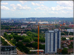 London (United Kingdom) (sky_hlv) Tags: arcelormittalorbit arcelormittal observationtower mirador olimpicpark parqueolmpico london londres reinounido unitedkingdom granbretaa england inglaterra skyline panormica panoramicview panoramic city ciudad europe europa