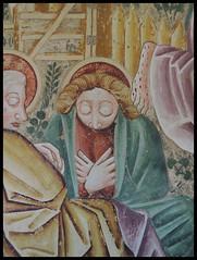 CYCLE OF FRESCOES IN BERAM . DETAIL . CHRIST ON THE MOUNT OF OLIVES (LitterART) Tags: heiligemariaaufdensteintafeln beram fresken frescoes totentanz lbergszene istrien istria croatia kroatien mariaimfels vincentofkastav christonthemountofolives danceofdeath 1474 svetamarijanakriljinah vincenzodacastua