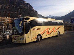 BU13 ZUD (welsh coach) Tags: new trip holiday west wales landscape this was mercedes benz coach day tour exterior with williams south cymru here east company brecon seen luxury mid coaches tourismo livery bu13zud
