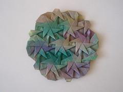 Pinwheel Spark Tessellation (Monika Hankova) Tags: paper origami tessellation