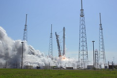 "Falcon 9 Launches From SLC-40 • <a style=""font-size:0.8em;"" href=""http://www.flickr.com/photos/12150483@N04/16577893184/"" target=""_blank"">View on Flickr</a>"