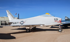 North American AF-1E Fury 139531 (ChrisK48) Tags: airplane aircraft tucsonaz pimaairspacemuseum pasm fj4 northamericanfj4bfury usnavy139531 cn209151