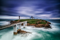 time stop lighthouse! (ALFONSO1979 ) Tags: travel paisajes landscape nikon galicia ribadeo 1424 islapancha lucroit d800e