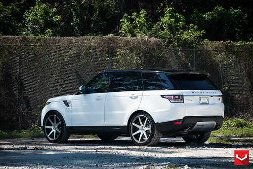 Warren Henry Range Rover >> Land Rover Range Rover Sport 22 Vossen Cv7 Matte Graphite