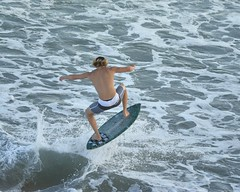 "The Hop (ScottS101) Tags: shirtless male muscles youth sand surf pacific surfer young tan wave males skimboarding skim skimboard skimboarder ""huntingtonbeach"" ""allrightsreserved""pier ""©2015scottsansenbach"""