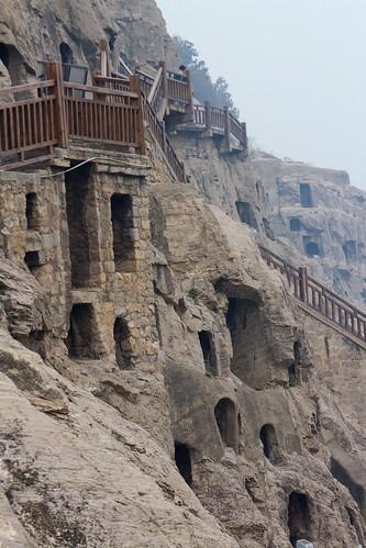 Carved cliffs