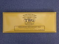 Singapore Breakfast Tea (stillunusual) Tags: singapore tea 2015 twg breakfasttea singaporebreakfasttea