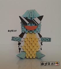 Squirtle Squad Origami 3d (Samuel Sfa87) Tags: anime japan 3d origami arte starter crafts craft sfa pokemon ash block squad gameboy pokémon carta artisan squirtle cartone cartoni arteempapel blockfolding origami3d sfaorigami sfa87 arteconlacarta