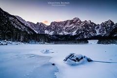 20150104-Canon EOS 7D-_MG_0281 (Sbastien Blond) Tags: hiver lac neige italie glace fusine