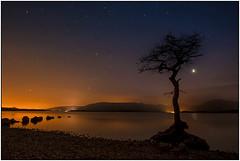 Milarrochy bay at Night 01 (Alan Gray Images) Tags: night stars scotland lochlomond milarrochybay