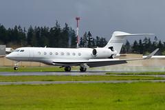 N817GS (sabian404) Tags: cn portland airport pdx g6 hillsboro gulfstream kpdx gvi 6111 g650 glf6 n611gd n817gs