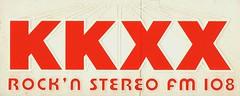 KKXX Bumper Sticker  001 (BuggyBug2010) Tags: california rock n stereo fm bakersfield 108 1079 kkxx
