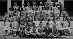Charlestown, Manchester (theirhistory) Tags: children school class form boys girls kids primary junior group jumper shorts trousers dress skirt socks sandals shoes wellies england uk rubberboots bow jacket pupils students education