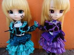As gemeas. (Meteor-a) Tags: cute doll horizon sound kawaii pullip hortense violette