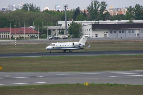 Luftwaffe / German Air Force Canadair CL-604 12+07 @TXL/EDDT airport