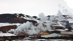Oh to harness geothermal power (lunaryuna) Tags: season landscape iceland spring steam lunaryuna geothermalactivity volcanicactivity volcanicarea seasonalchange myvatnregion kraflaarea centralnorthiceland thepowersofdeepearth