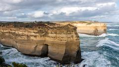 Huge fingers (Derek Midgley) Tags: dsc02329 greatoceanroad lochardgorge limestone southernocean water waves