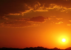 Sunset 6 28 16 #04 (Az Skies Photography) Tags: sun set sunset dusk twilight nightfall cloud clouds sky skyline skyscape scottsdale arizona az scottsdaleaz june 28 2016 june282016 62816 6282016 orange yellow gold golden salmon black