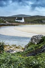 Timsgarry, Uig, Lewis (the44mantis) Tags: scotland ecosse lewis hebrides uig village cottage sea shore coast bay