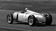 Goodwood Revival 2012 (Shot Yield Photography) Tags: auto uk greatbritain party england people bw white black english classic cars cup sports monochrome car fashion festival race speed vintage silver photography photo glamour track foto shot image action antique unique glory union picture style meeting competition racing legendary historic retro event nostalgic driver trophy british motor arrow autos yield races circuit goodwood drivers autounion collectable glamorous revival 2016 silberpfeil goodwoodrevival vintagephotography goodwoodrevival2012 shotyieldphotography