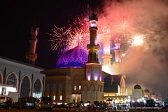Musabaqah Tilawatil Quran 2016 Closing Ceremony (Rudy Sempur) Tags: indonesia mataram lombok ntb nusatenggara sundalesser city downtown mosque evening night firework islam quran alquran koran festival ceremony
